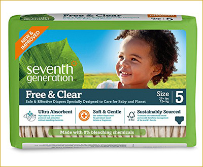 Seventh Generation Baby Free and Clear Diapers