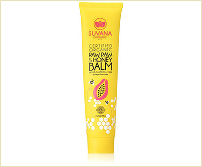 Certified Organic Paw Paw & Honey Balm by Suvana Beauty
