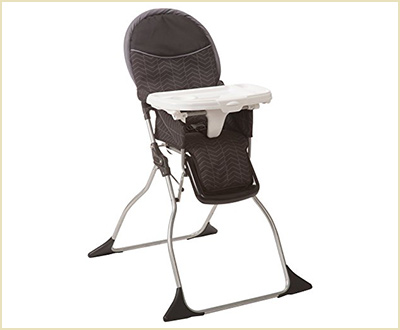 Cosco Simple Fold Black Arrows High Chair