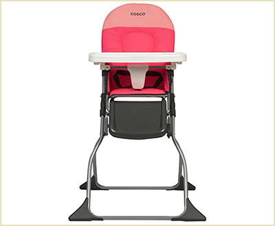 Cosco Simple Fold Colorblock Coral High Chair