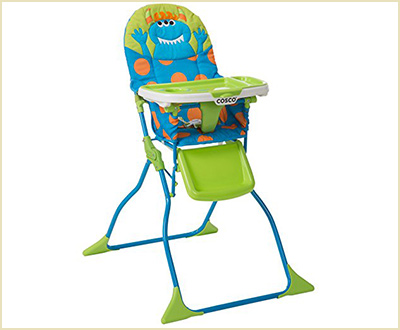 Cosco Simple Fold Monster Syd High Chair
