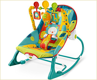 Fisher Price Dark Safari Infant to Toddler Bouncer