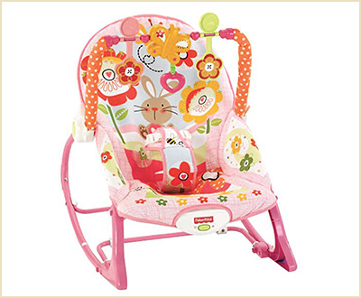 Fisher Price Infants to Toddler Bunny Baby Bouncer