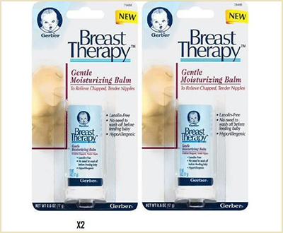 Gerber Breast Therapy Gentle Moisturizing Balm