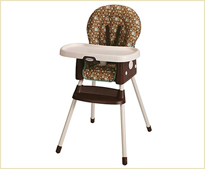 Graco Simple Switch Little Hoot Convertible High Chair