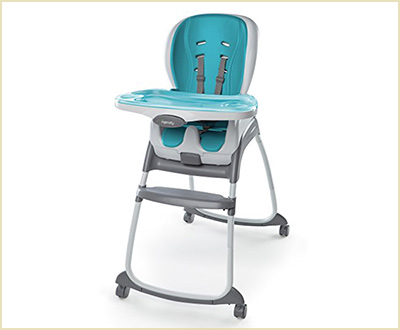 Ingenuity SmartClean Trio 3 in 1 Aqua High Chair
