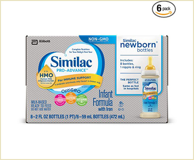 Similac Pro-Advance Infant Formula (Pack of 6)