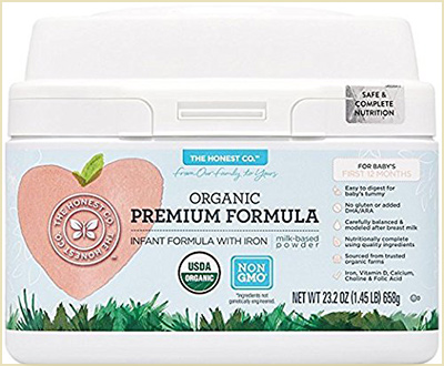 The Honest Co. Organic Premium Infant Formula