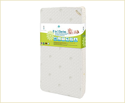 LA Baby Natural Soy Foam Crib Mattress