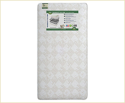 Serta Tranquility Eco Firm Crib & Toddler Mattress