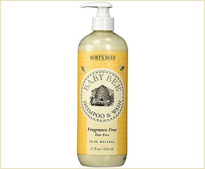 Fragrance-Free Baby Shampoo by Burt's Bees