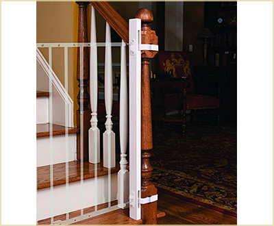 The 36-inch EZ Fit Gate Adapter Kit by Little Partners
