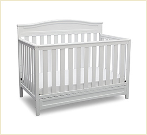 delta children emery baby crib
