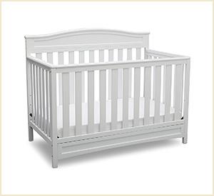 delta children emery baby crib