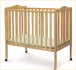 delta children portable baby crib