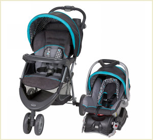 ez ride 5 car seat stroller combo