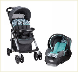 vive travel stroller car seat combo