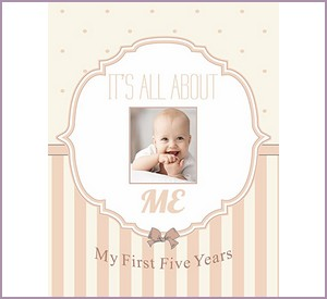 Normson First and Five Year Baby Memory and Record Book