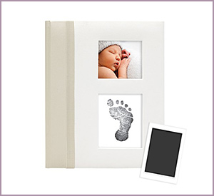 Baby Book with Clean-Touch Ink Pad by Pearhead