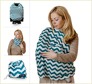 Multi Use Nursing Cover Up by Qaqadu