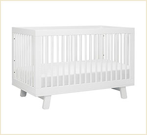 Babyletto Hudson 3 in 1 Convertible Baby Crib