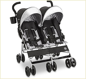 best j is for jeep brand scout double umbrella stroller