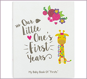 best Ronica First Year baby memory book