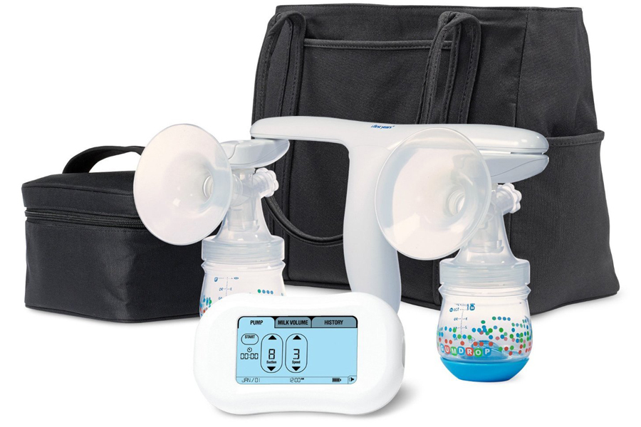 First years breast flow memory pump