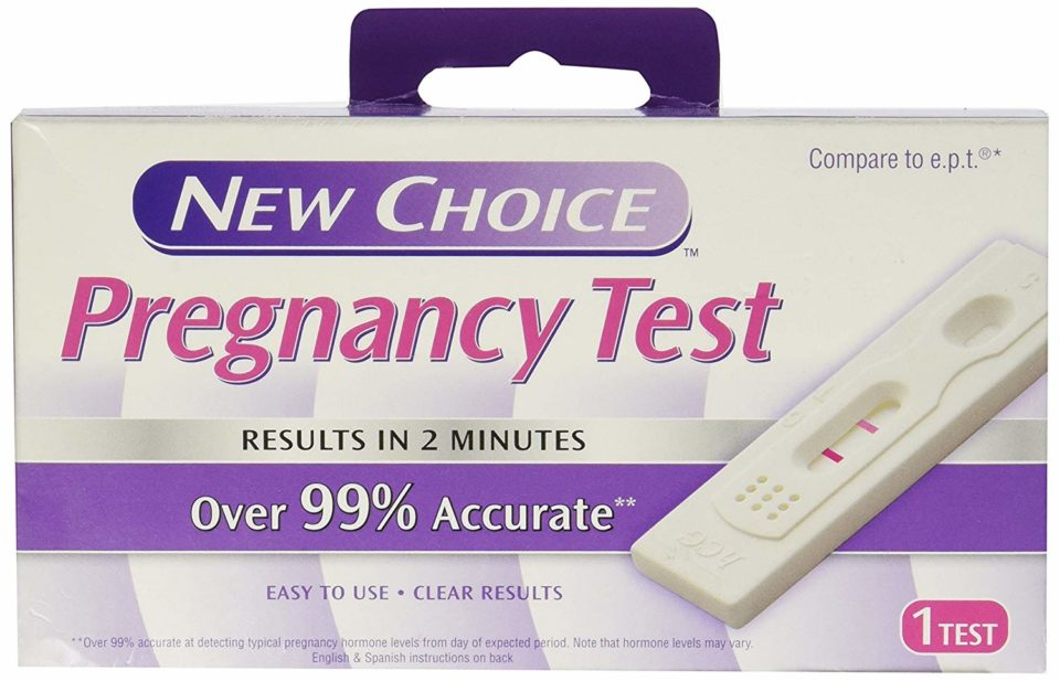 New choice pregnancy tests