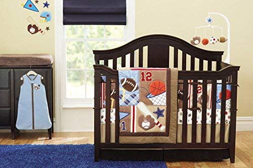 Baby Boy Sport Crib Bedding Set