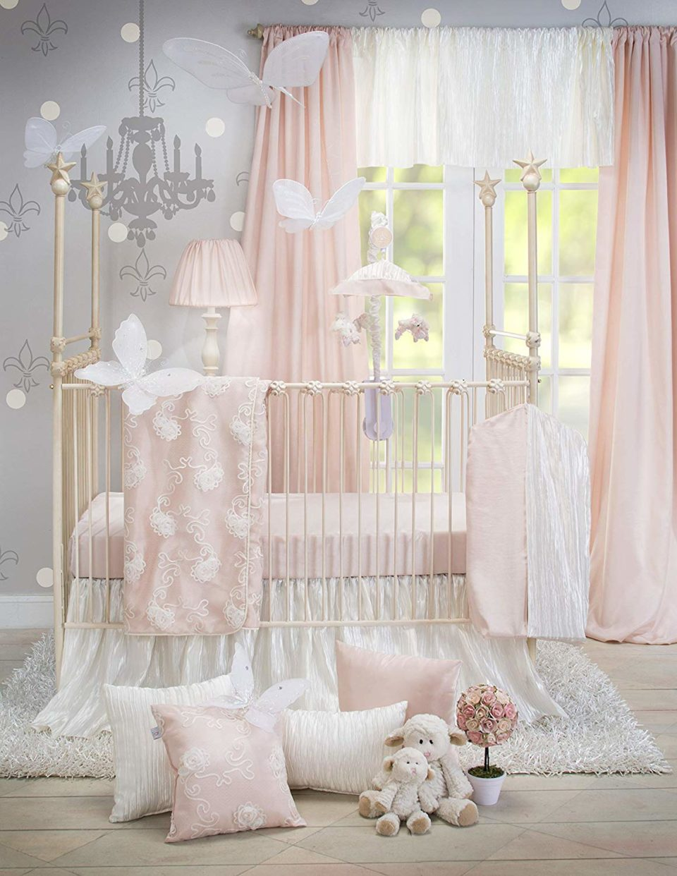 Crib Bedding Set Lil Princess by Glenna Jean